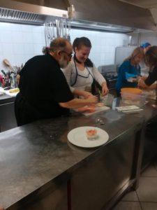 Lo chef Guglielmo Ventre